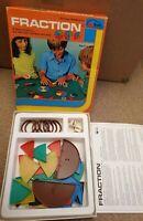 Vintage 1979 Fraction Maths Game