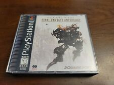 Final Fantasy Anthology (Sony PlayStation 1, 1999) Complete - Tested - Authentic
