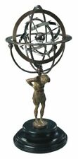 Armillarsphäre, Antike Mythologische Weltmaschine, Titan Atlas trägt die Sphäre