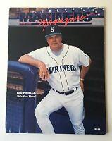 Seattle Mariners Magazine 1994 Program Lou Piniella Vol. 5, Issue 1
