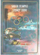 "Folder filatelico 17 - "" Giochi Olimpici a Sydney "" 2000"