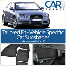 AUDI A4 4DR 2000-08 UV CAR SHADES WINDOW SUN BLINDS PRIVACY GLASS TINT BLACK
