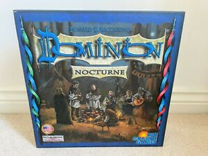 Dominion Board Game - NOCTURNE Expansion - Unplayed but not sealed