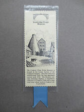 Vintage BOOKMARK Westair Card COALPORT CHINA WORKS Ironbridge Gorge Museum