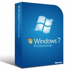 Microsoft Windows 7 Professional  - 64 Bit Full Version & Activation 7 Pro