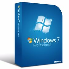 Microsoft Windows 7 Professional  - 64 Bit Full Version & Upgrade 7 Pro