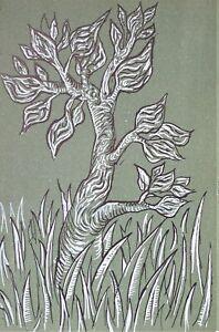 John Craxton RA (1922-2009) Original 1944 lithograph (link Piper, Minton, Nash}