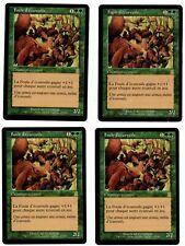 MTG Magic - 4x Squirrel mob (Odyssey - French)