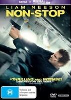 NON-STOP Liam Neeson DVD + Digital Ultraviolet DVD NEW