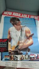 Rare Bruce Springsteen Ad Advertisment Complete Poster Columbia Pictures Coca Co