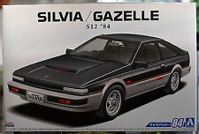 Aoshima 062296 1984 Nissan Silvia S 12 / Gazelle Turbo RS-X JDM 1:24