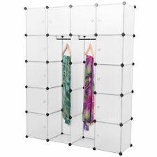 NEUHAUS® DIY System Regal Schrank 12Türen 180x145x37cm Weiß Steck Bücher Ordner