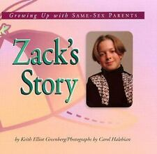 Zack's Story: Growing Up with Same-Sex Parents (Meeting the Challenge)-ExLibrary