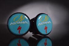 Specialized Astana team Handlebar End Plugs, Bar End Caps, endcaps black new
