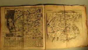 RARE Ch'onhado Tian Xia Tu Map of All-Under-Heaven World China Korea 18-19th c.