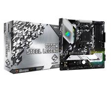 ASRock Steel Legend B550M AMD Micro-ATX DDR4-SDRAM Motherboard