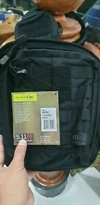 5.11 Tactical Rush Moab 6 bag pack - Black - New with tags ,