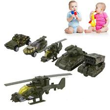 5Pcs/Lot 1:64 Scale Alloy Military Vehicle Car Model Kids Diecast Car Toy Gift