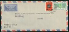 MayfairStamps Iraq Baghdad to Zwijndrecht Holland Air Mail Cover wwr5005