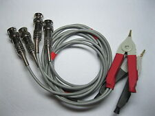 2 Set Kelvin Clip for Lcr Meter with 4 Bnc Test Wires