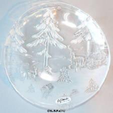 platos de Navidad plätzchenteller PLATOS DE CRISTAL Placa de vidrio
