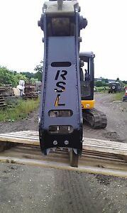 RSL digger excavator thumb grab & grapple top Jaw, 0.75t - 14t ,new pins include