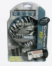 NEW Factory Sealed  PSP Gameshark Mad Catz Data Media Manager Cheats Saves Codes
