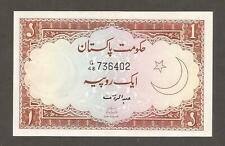 Pakistan 1 Rupee N.D. (1973); UNC; P-10b; L-B113b; Lahore Fort; Shaikh Sign