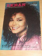 Ekran magazine 40 1986 Janet Jackson on cover * Helena Vondraczkova * Czursina