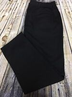 Liz & Me Black Denim Jeans Women's Size 16W 100% Cotton