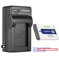 Kastar Battery Wall Charger for Sony OEM NP-BD1 NP-FD1 & Genuine BC-CSD BC-CS3