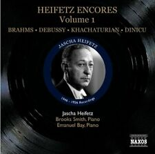 Jascha Heifetz - Heifetz Encores Volume 1 (Naxos Historical: 8.112072) [CD]