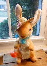 Vintage Amber Easter Bunny Rabbit - Japan 1950's