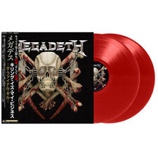 MEGADETH, KILLING IS MY BUSINESS...AND BUSINESS IS GOOD!, 2 RED LP, JAPAN, 2018