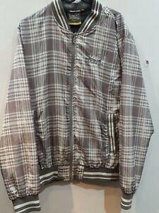 Men's Grey Everlast Zip Jacket Size Large
