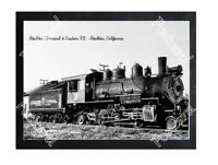 Historic Stockton Terminal & Eastern RR - Stockton, California Train Postcard