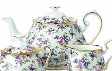 Royal Albert 100 Years 1940 Teapot English Chintz NEW