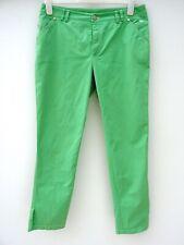 BURBERRY London Femme Sweetpea Green Summer Cheville Brouteur Pantalon Taille 44 #4154