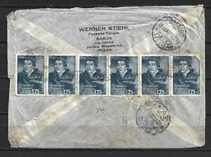 Angola, Portugal - 1949 Airmail Cover t/ Germany, Zone - VF !!!!!  (A3913)