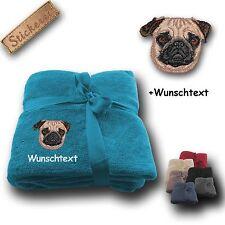 Waschmaschinengeeignete Wohn- & Kuscheldecken mit Tiermotiven