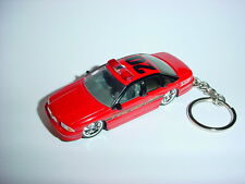 NEW 3D RED 1995 CHEVROLET IMPALA SS CUSTOM KEYCHAIN keyring key HOT FIRE RIDE!