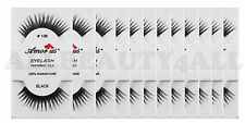 AmorUs #138 100% Human Hair False Eyelashes (pack of 12Pairs) compare Red Cherry