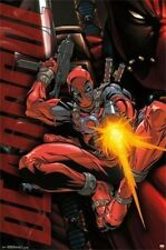 MARVEL COMIC BOOK HERO DEADPOOL JUMP POSTER PRINT 22X34 NEW FAST SHIPPING