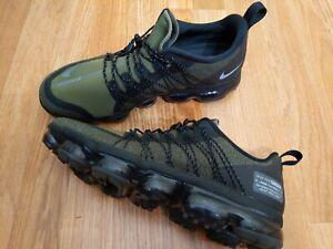 "Nike Air Vapormax Run Utility ""Medium Olive"" Mens 11.5 AQ8810-201 Sneakers Shoes"