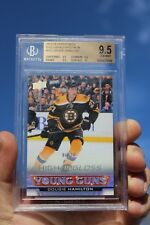 2013-14 Dougie Hamilton UD Young Guns High Gloss #202 Ser# 06/10 Rookie RC
