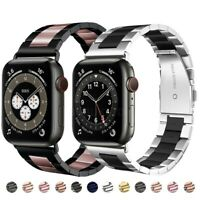 For Apple Watch Strap Series SE 4/5/6 38/40/42/44MM Stainless Steel Watch Bands