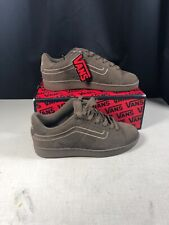 Vans Canty Brown Skate Board Shoes Size 9