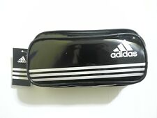 Black 100% Original NEW adidas Double Zipper Pencil case(Made in VIETNAM)