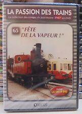 65 dvd la passion des trains atlas fête de la vapeur neuf scellé