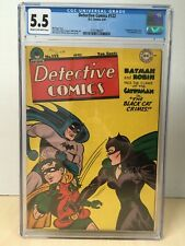 Detective Comics #122 (1947) CGC 5.5 1st EVER Catwoman Cover Beautiful Copy